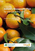 Citrus industry biosecurity plan